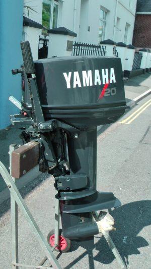 Yamaha 20 short shaft