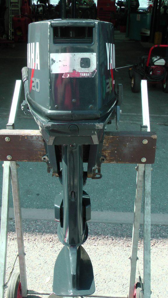 2 stroke Yamaha