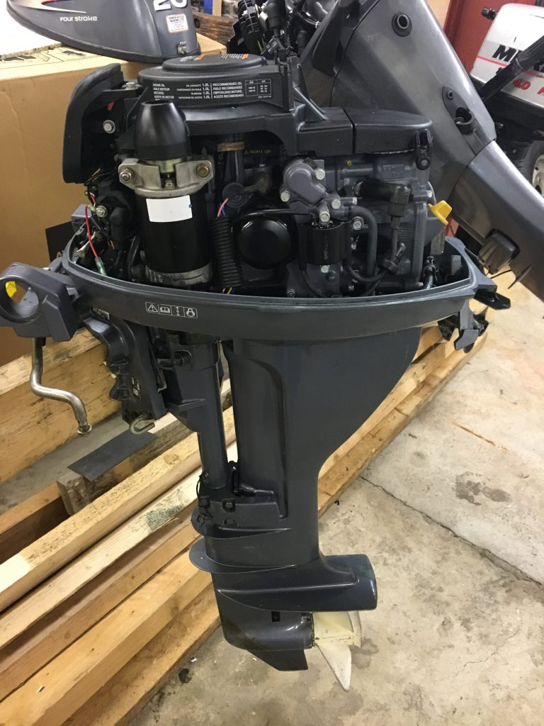 15hp Yamaha four stroke long shaft